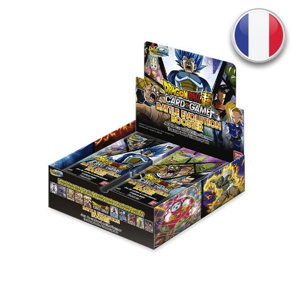 Dragon Balls Super : Boite Booster EV01 Battle Evolution Booster