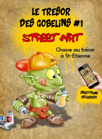 Le Trésor des Gobelins #1<br>Street Art