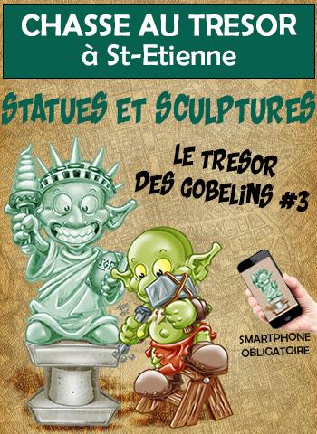 Le Trésor des Gobelins #3<br>Statues et Sculptures